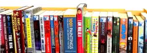 shelf of our books