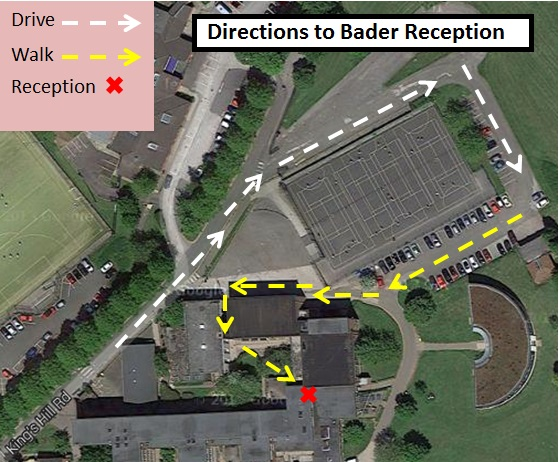 Directions - King Edward VI - Bader reception