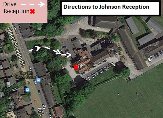 Directions - King Edward VI - Johnson reception
