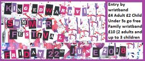 Summer Festival Website banner